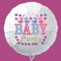 Baby Party Luftballon aus Folie mit Helium