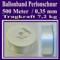 Ballonband, Perlonschnur, Rolle 500 Meter