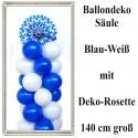 Oktoberfest Dekoration, Ballondeko-Säule zum bayrischen Fest