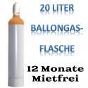 Ballongas Helium 20L Langzeit 12 Monate