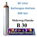 Ballongas, Helium, Heliumgas, 30 Liter