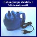 Elektrische Ballonpumpe zum Aufblasen von Ballons, Mini-Automatik