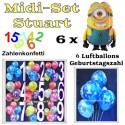 Kindergeburtstag Midi-Set 5, Stuart, Minions