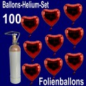 Loving Hearts Maxi-Set Folienballons