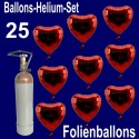 Loving Hearts Midi-Set Folienballons