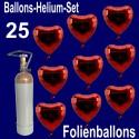 Loving Hearts Midi-Set Folienballons