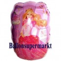 Luftballon Barbie Dancing, Folienballon mit Ballongas