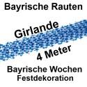 Bayrische-Rauten-Girlande-Rautengirlande