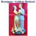Brautpaar, Hochzeitsdeko, Goldene Hochzeit 03