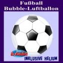 Fußball, Bubble Luftballon inklusive Ballongas-Helium