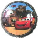 Cars Luftballon, Lightning McQueen, Rundballon-45 cm, ohne Helium