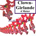 Clown-Girlande