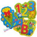 XL-Konfetti zum Schulanfang alles Gute, Cutout Dekoration zur Einschulung, 24 Stück