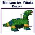 Pinata Dinosaurier, rainbow