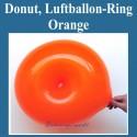 Donut, Ringballon, Orange
