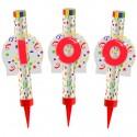 Eisfontänen Zahl 100, Dekoration zum 100. Geburtstag und Jubiläum