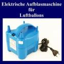 Elektrische Ballonpumpe zum Aufblasen von Ballons, Doppelausgang
