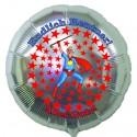 Endlich Rentner! Alles Gute! Luftballon aus Folie mit Helium-Ballongas, Ballongrüße