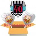 """Geburtstag """"Celebrate 40"""" mit Bärchen"""