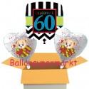 """Geburtstag """"Celebrate 60""""  mit Bärchen"""