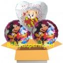 Kindergeburtstag mit Mickey, Donald & Pluto