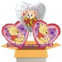 Kindergeburtstag mit Pooh (Herz)
