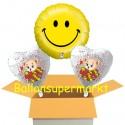 Geburtstag Smiley mit Bärchen