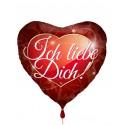Ich liebe Dich, Herzluftballon, ohne Helium