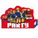 Feuerwehrmann Sam, Einladungskarten zum Kindergeburtstag, 8 Stück