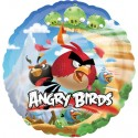 Luftballon Angry Birds, Folienballon ohne Ballongas
