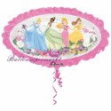 Luftballon Disney Princess Shape, Folienballon mit Ballongas