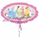 Luftballon Disney Prinzessinen, Folienballon ohne Ballongas