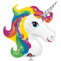 Einhorn Luftballon ohne Helium, Unicorn