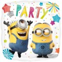 Luftballon Minions Party, Folienballon mit Ballongas