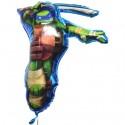 Luftballon Leonardo, Teenage Mutant Ninja Turtles, Folienballon mit Ballongas
