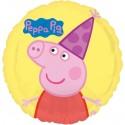 Peppa Pig Folienballon ohne Helium-Ballongas