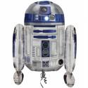 Luftballon R2D2, Star Wars, Folienballon ohne Ballongas