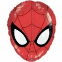 Luftballon Ultimate Spider-Man Head, Folienballon mit Ballongas