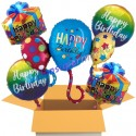 Happy Birtday Balloons, Geburtstagsglückwünsche 6