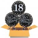 3 Luftballons, Sparkling Celebration zum 18. Geburtstag