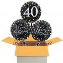 3 Luftballons, Sparkling Celebration zum 40. Geburtstag