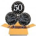 3 Luftballons, Sparkling Celebration zum 50. Geburtstag