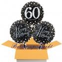 3 Luftballons, Sparkling Celebration zum 60. Geburtstag