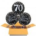 3 Luftballons, Sparkling Celebration zum 70. Geburtstag