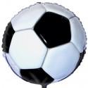 Luftballon Fußball, Folienballon mit Ballongas