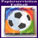 Papier-Servietten Fußball