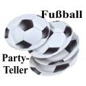 Fußball Partyteller