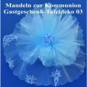 Gastgeschenk Kommunion, Mandeln im Tüll-Bouquet-Säckchen 03
