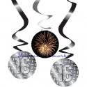Swirls Finally 16, Geburtstagsdekoration, Zahlenwirbler zum 16. Geburtstag