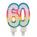 Geburtstagskerze, Geburtstag 60.